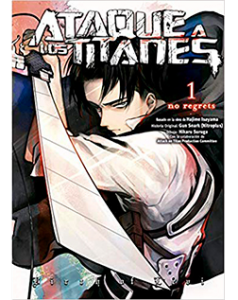 Ataque a los Titanes No Regreets Tomo 01 color