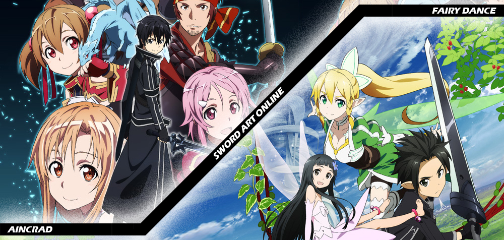 Sword art online aincrad fairy dance alfheim anime