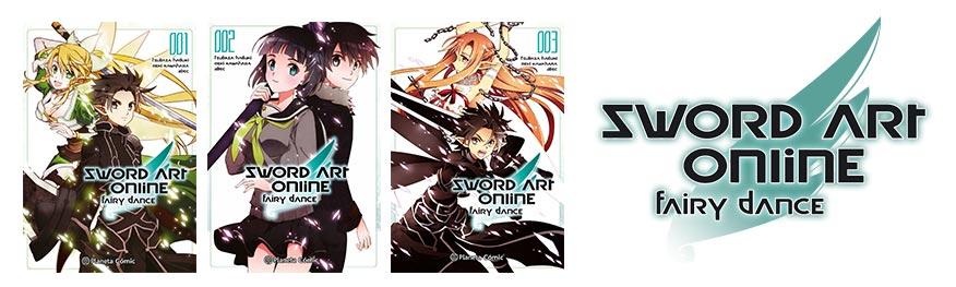 Sword Art Online SAO manga alfheim fairy dance