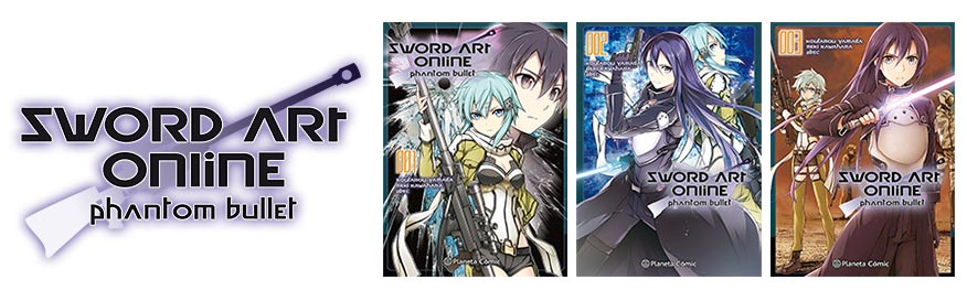 Sword Art Online SAO manga gun gale phantom bullet