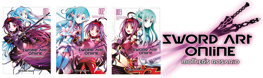 Sword Art Online Mother's Rosario tomos 1-3
