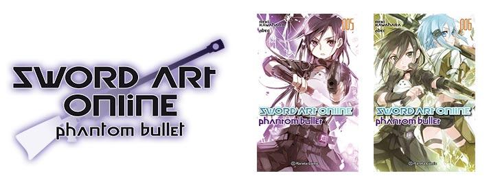 Sword Art Online SAO novela gun gale phantom bullet
