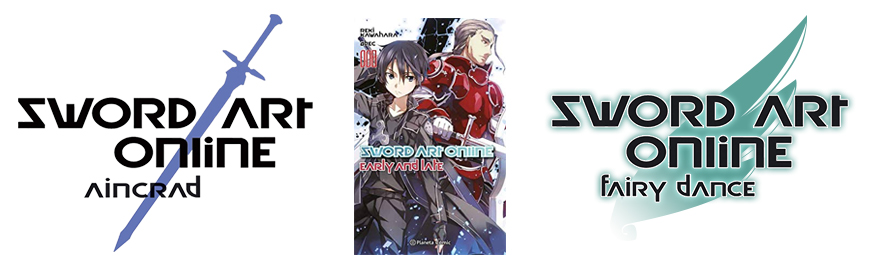 sword art online early and late novela