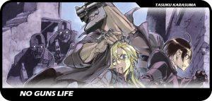 No Guns Life manga