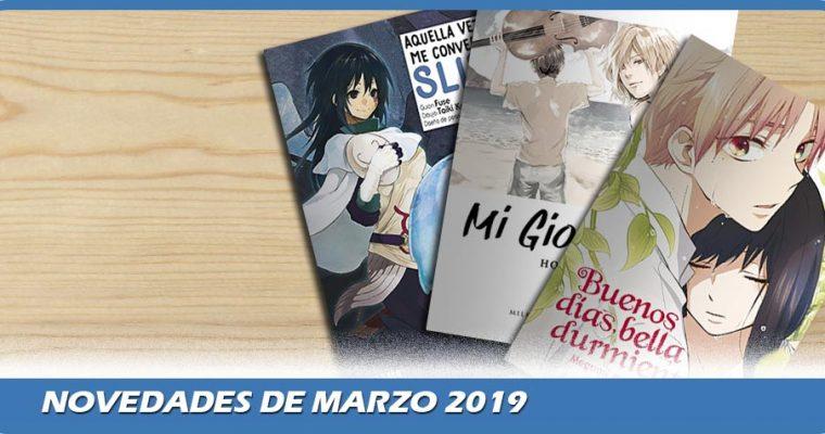 Novedades de Marzo 2019