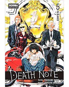 Death Note Tomo 05