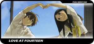 Love At Fourteen manga entrada
