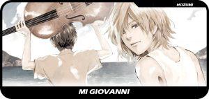 Mi Giovanni entrada manga