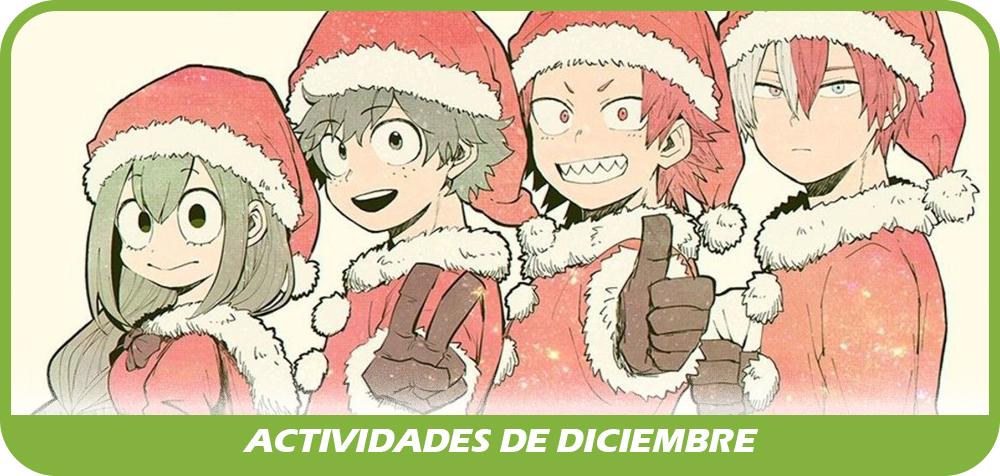 Actividades de Diciembre 2019