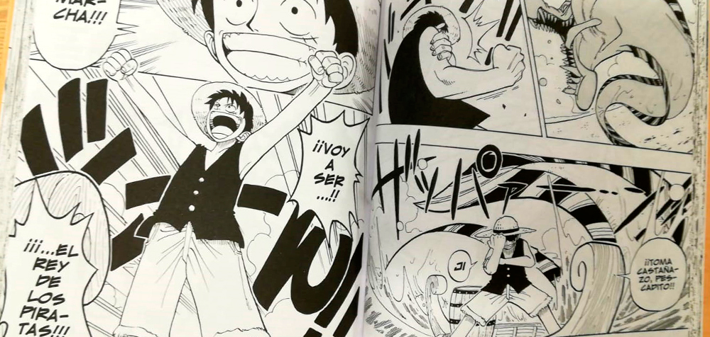 dibujo one piece tomo 1