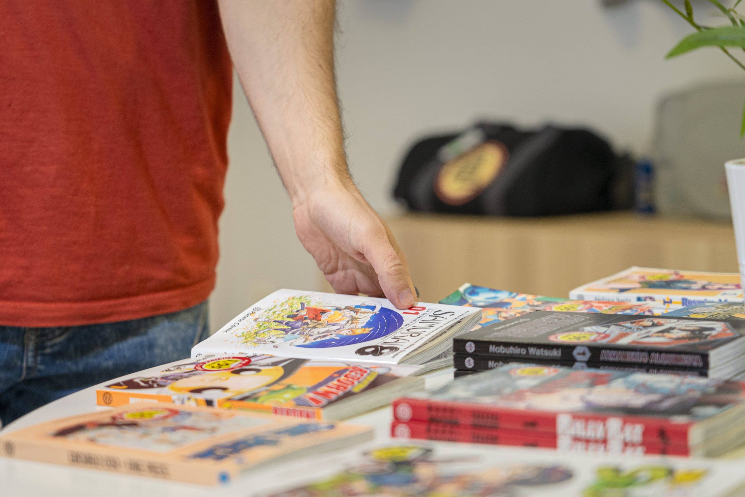 Wasabi Manga Muestra de mangas