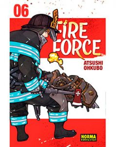 Fire Force tomo 06