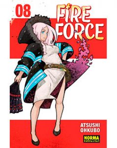 Fire Force tomo 08