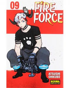 Fire Force tomo 09