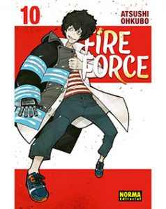 Fire Force tomo 10