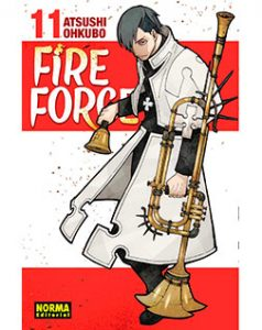 Fire Force tomo 11