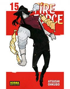 Fire Force tomo 15