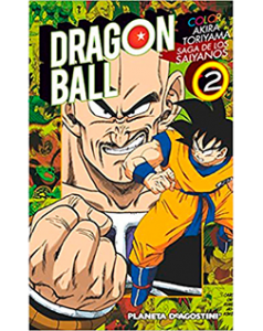 Dragon Ball Color Saiyanos 2