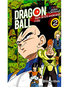 Dragon Ball Color Androides Cell 2