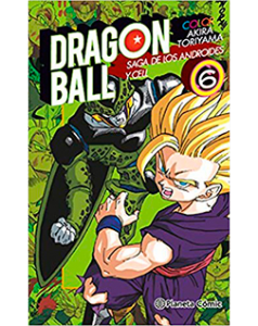 Dragon Ball Color Androides Cell 6
