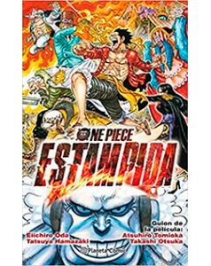One Piece Novela Estampida