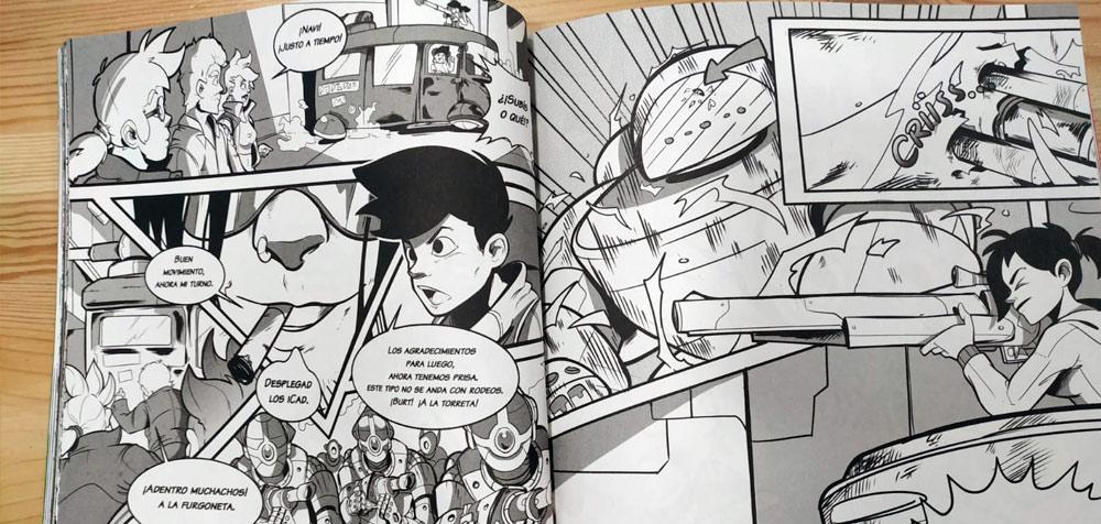 Aron-Fire dibujos Planeta Manga 5