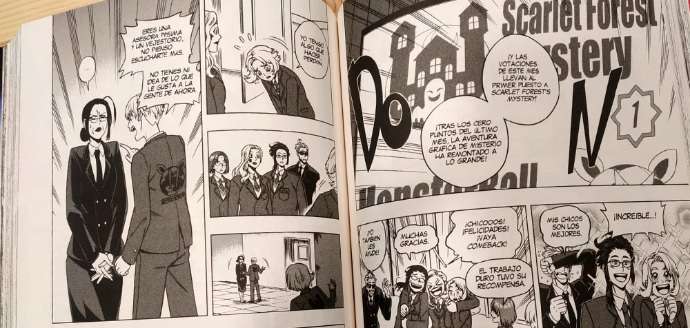 Good Game! dibujos Planeta Manga 5