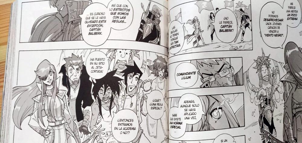 Gryphoon dibujos Planeta Manga 5