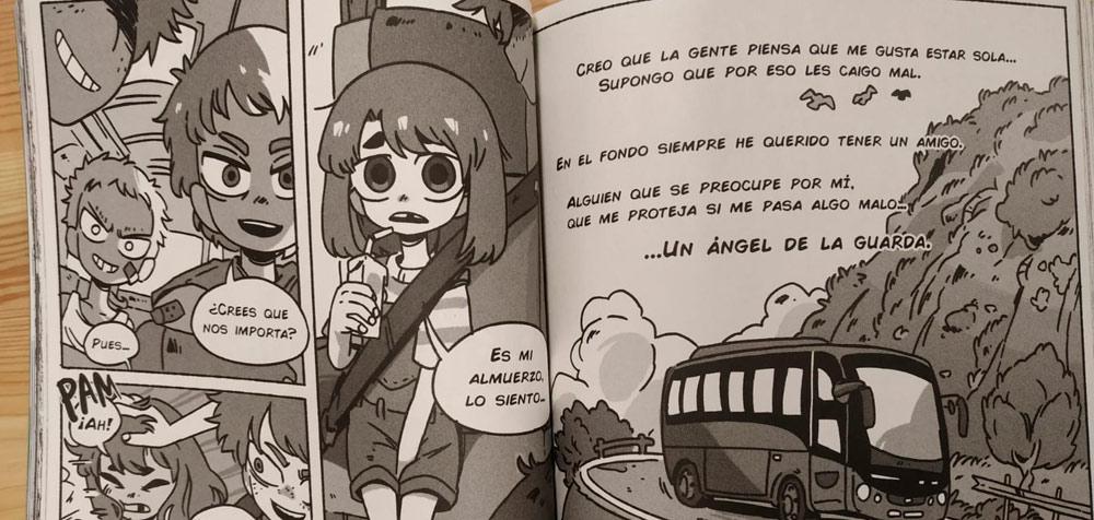 Mi ángel de la guarda dibujos Planeta Manga 5