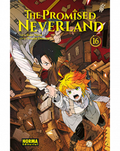The Promised Neverland tomo 16