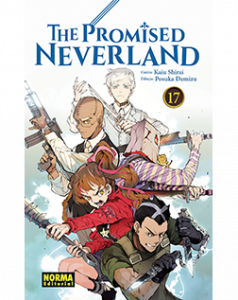 The Promised Neverland tomo 17